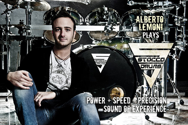 Alberto Lemoni with Stocco Drums